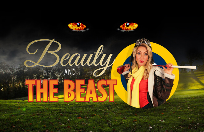 Beauty & The Beast Gold Event design