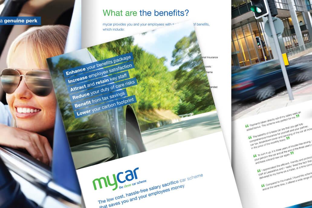 Mycar design for print
