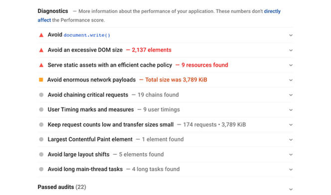 Google Search Console UX report