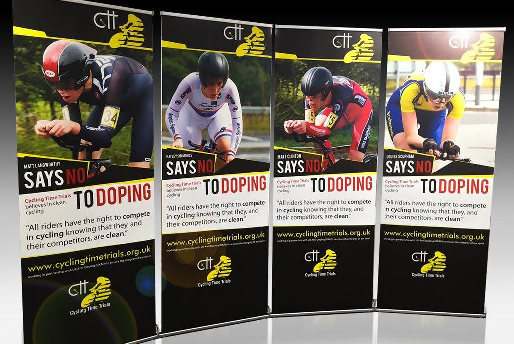 CTT Pull-up banner design