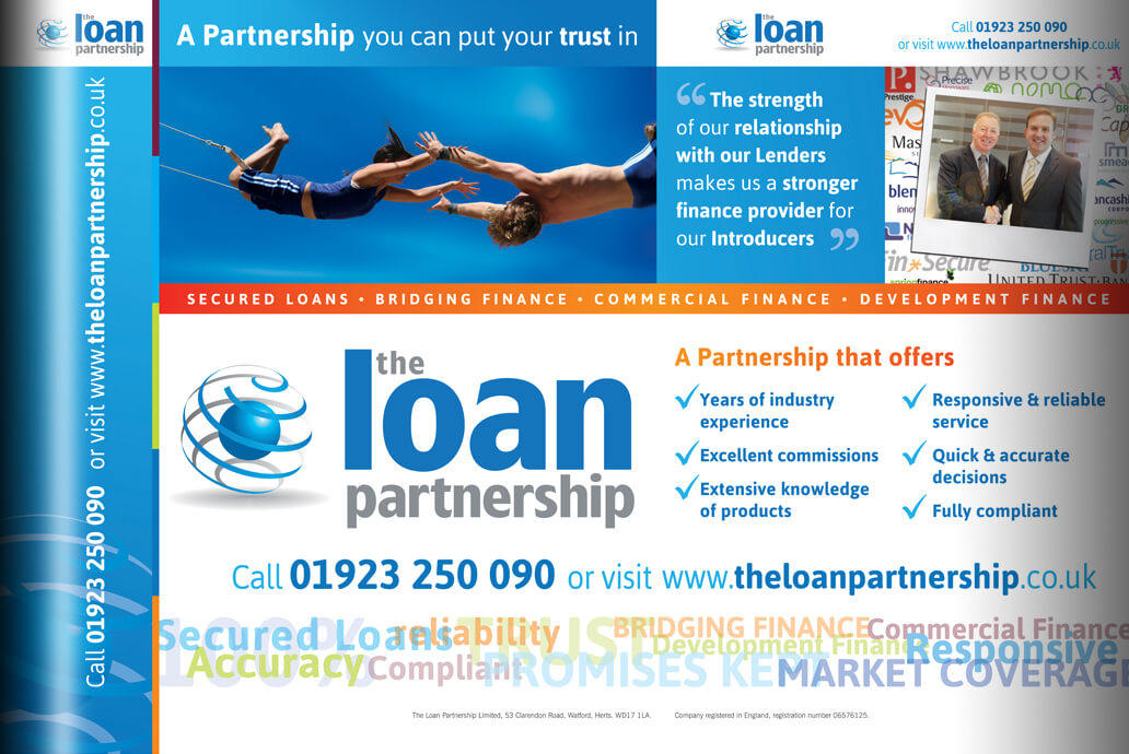 The Loan Partnership exhibition stand design