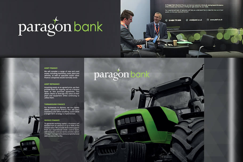 Paragon Bank exhibition design