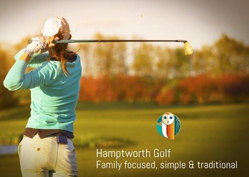 Hamptworth family focused