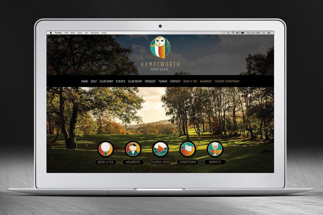 Hamptworth web design