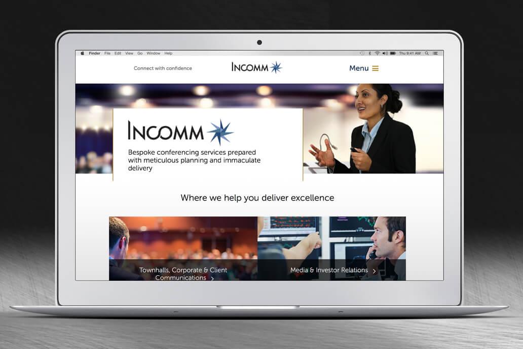 Incomm web design
