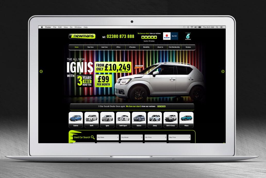 Newmans web design